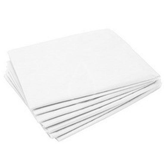 Простыни одноразовые сложенные, белые 200х80см (25шт/уп) - изображение