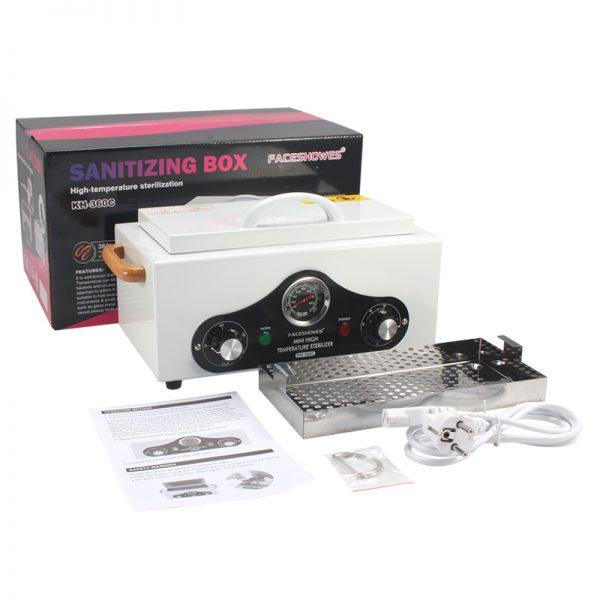 Шкаф сухожаровый для стерилизации маникюрных инструментов (Сухожар) KH 360C - изображение 2