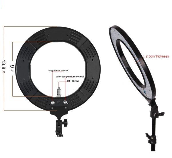 Лампа кольцевая OKIRA LED RING 336 CY - изображение 2