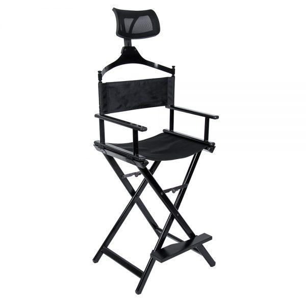 Разборный стул визажиста из алюминия с подголовником КС - изображение 5