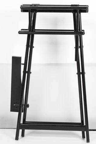 Разборный стул визажиста из алюминия с подголовником КС - изображение 6
