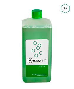 Дезинфицирующее средство с моющим эффектом «Алмадез» Концентрат 1 л - изображение
