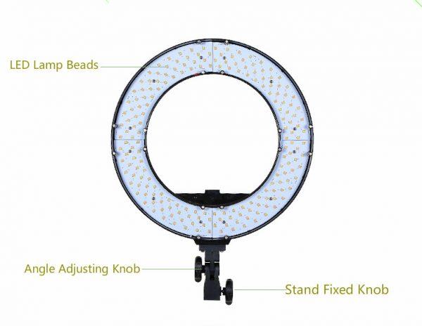 Лампа кольцевая OKIRA LED RING FS 480 - изображение 2