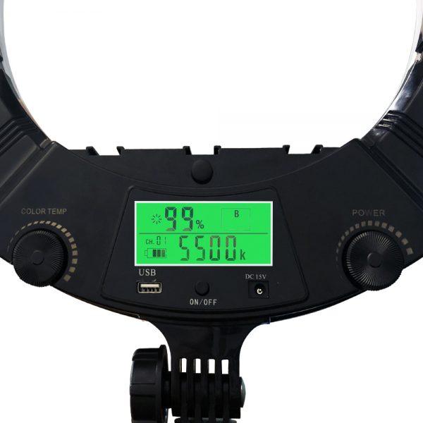 Лампа кольцевая OKIRA LED RING AX 480 E 240 LED - изображение 6