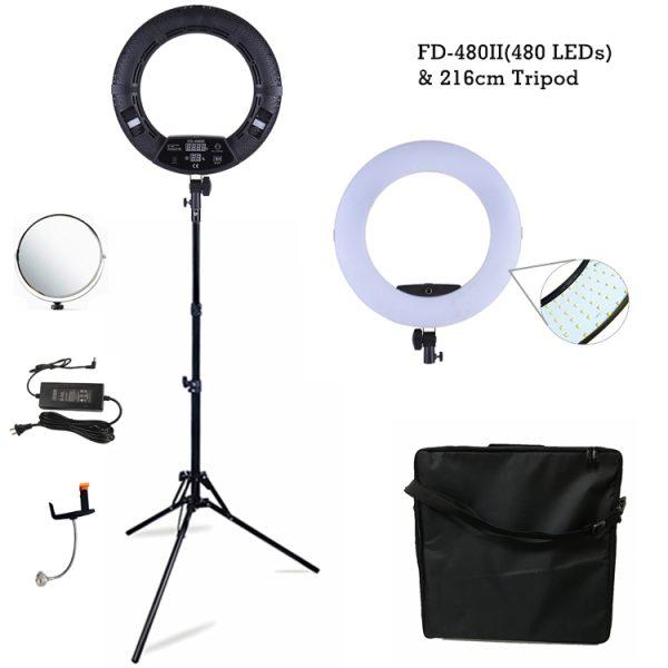 Лампа кольцевая OKIRA LED RING FD 480 - изображение 3