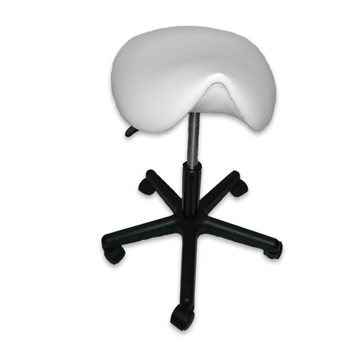 Стул-седло GB 606  белый (уценка) - изображение 3