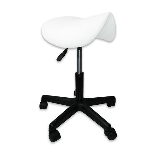 Стул-седло GB 606  белый (уценка) - изображение