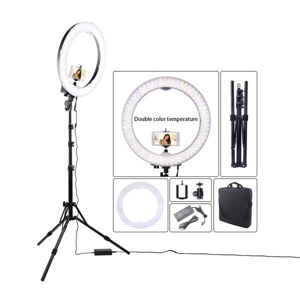 Лампа кольцевая OKIRA LED RING 240 Battery - изображение 2