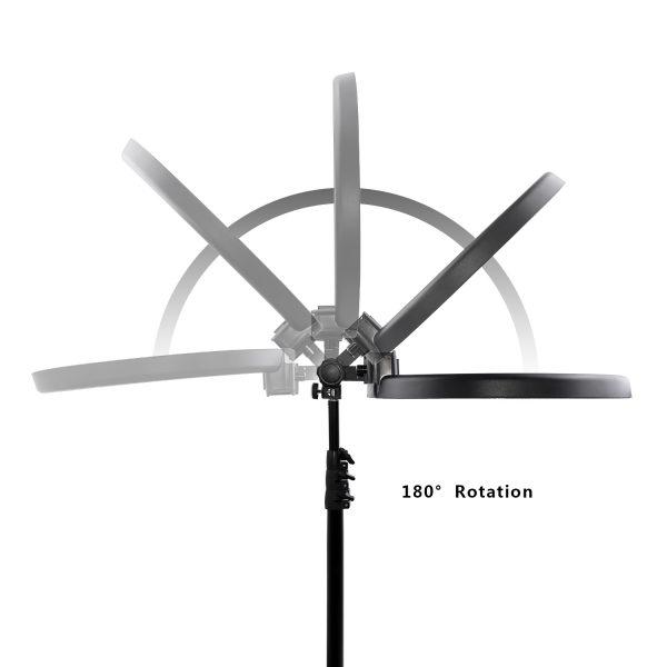 Лампа кольцевая OKIRA LED RING 240 Battery - изображение 8
