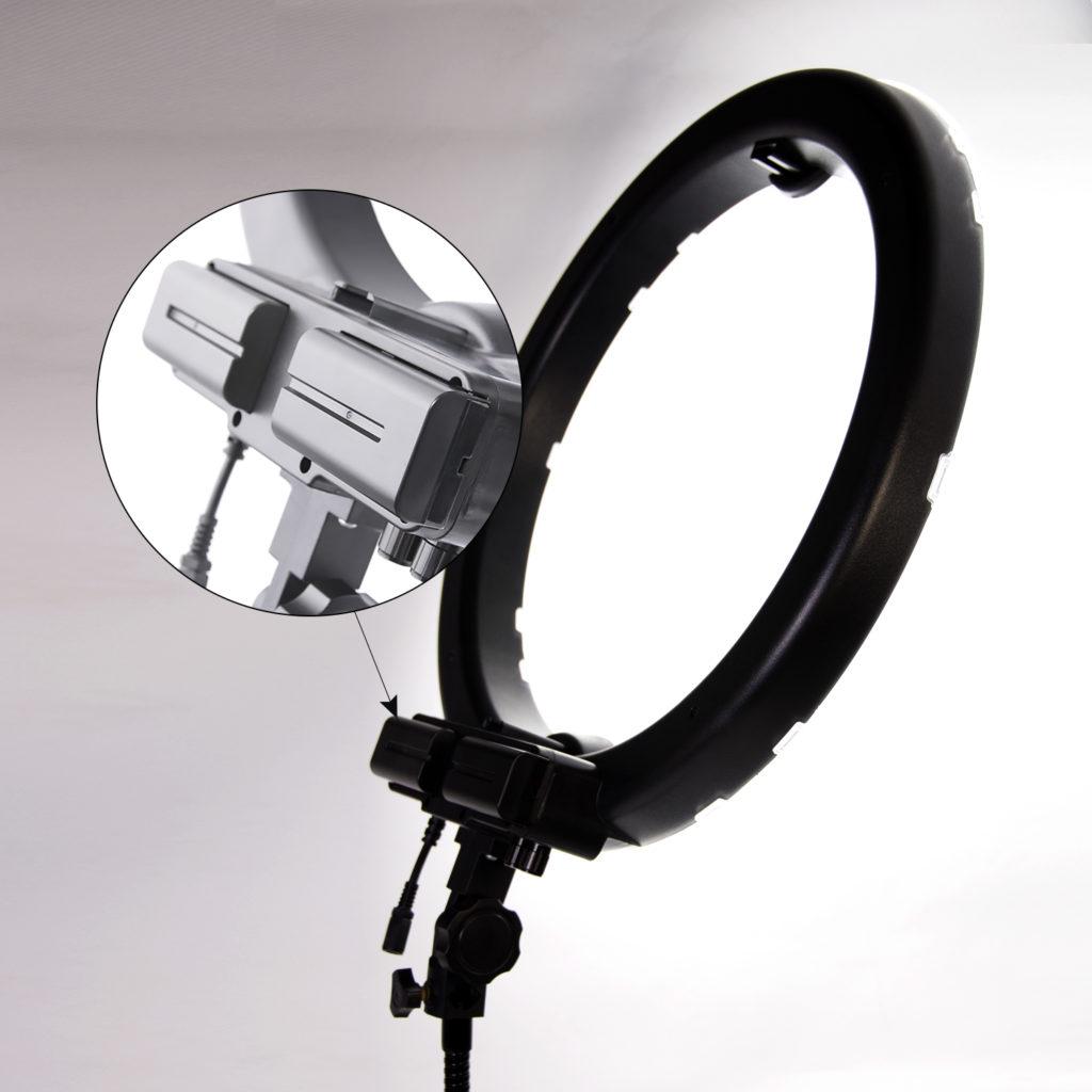 Лампа кольцевая OKIRA LED RING 240 Battery - изображение