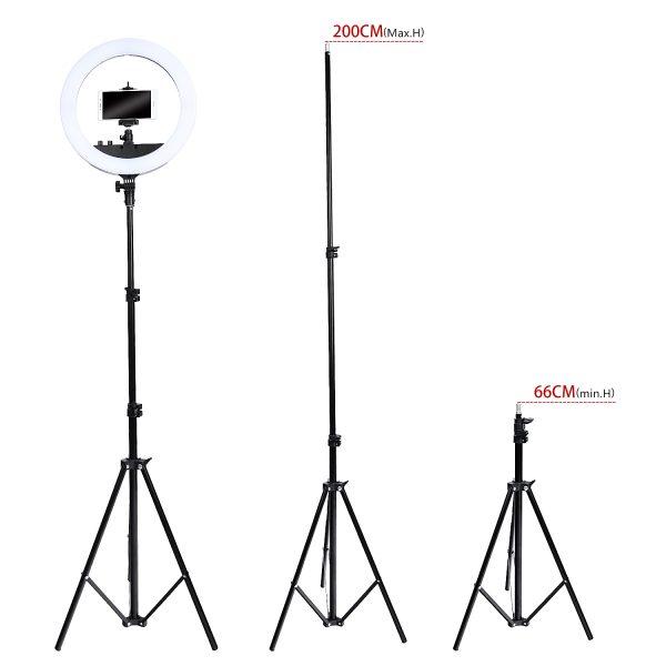Лампа кольцевая OKIRA LED RING FT 240 (35 см) - изображение 4