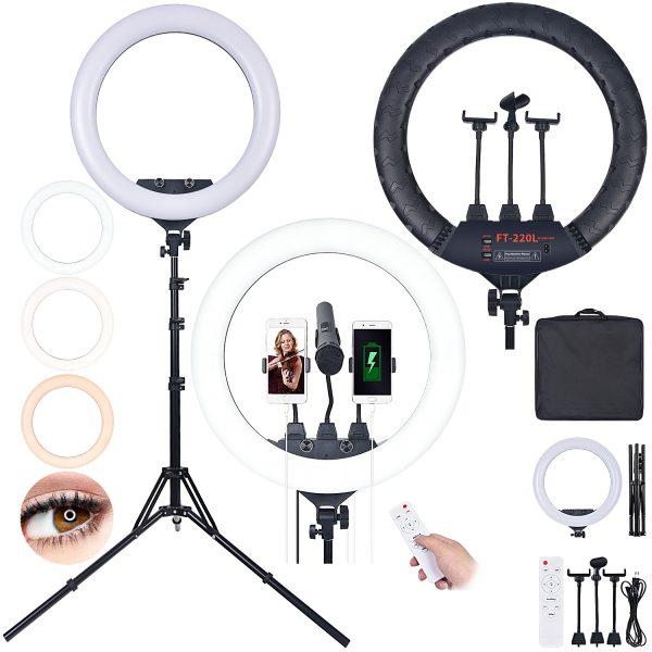 Лампа кольцевая OKIRA LED RING 600 FT 220 L - изображение 2