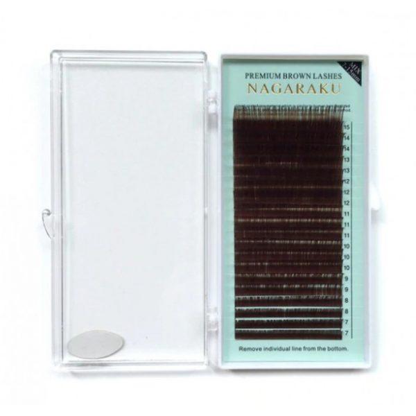 Ресницы коричневые Nagaraku МИКС - изображение 4