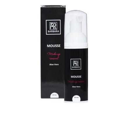 Мусс для снятия макияжа Barbara с ароматом алоэ вера 50 мл - изображение