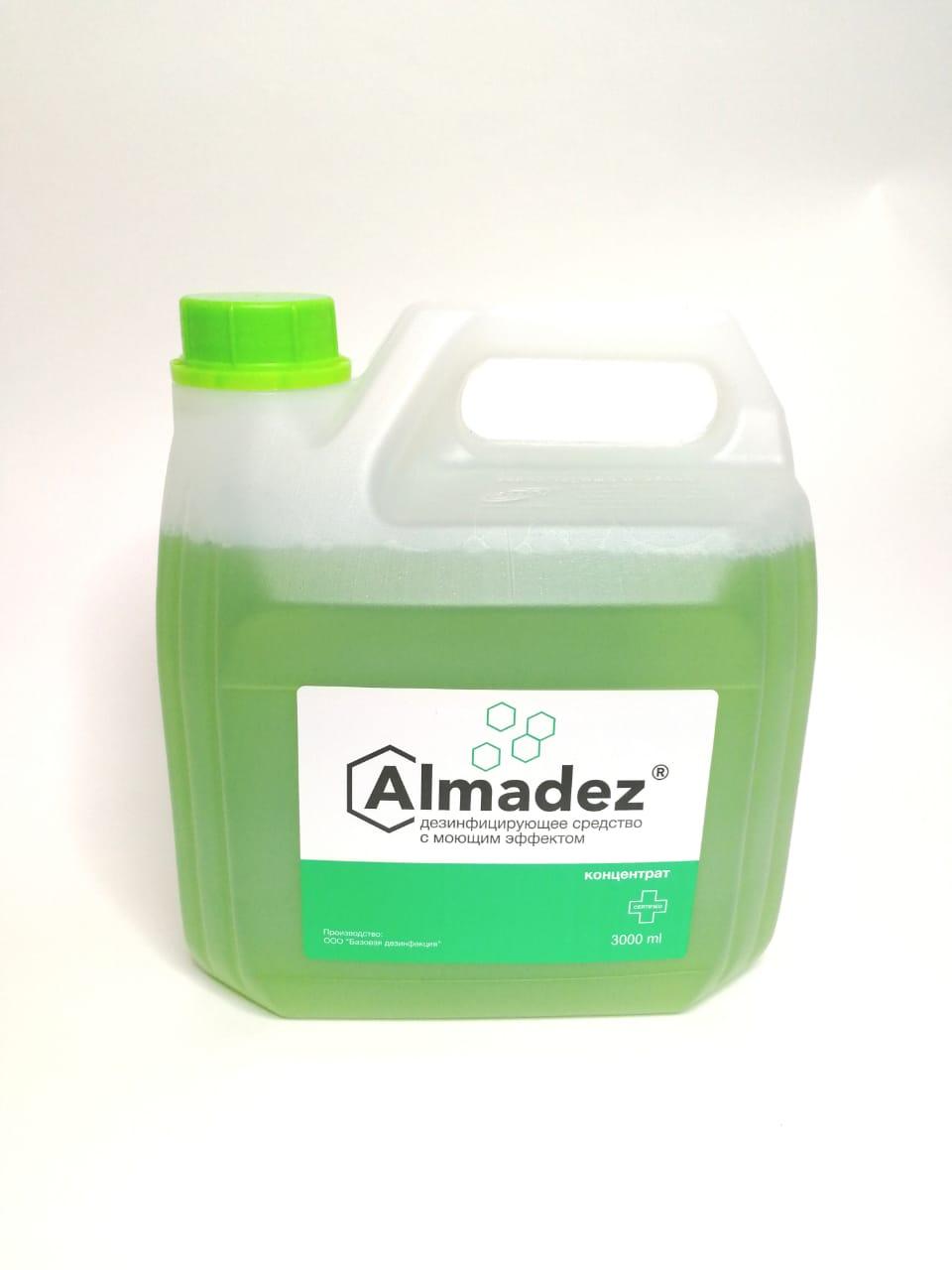 Дезинфицирующее средство с моющим эффектом «Алмадез» Концентрат 3 л - изображение