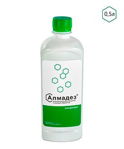 Дезинфицирующее средство с моющим эффектом «Алмадез» Концентрат 0,5 л - изображение