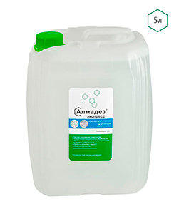 Средство 2 в 1: кожный антисептик и дезинфекция поверхностей «Алмадез-экспресс» 5 литров - изображение