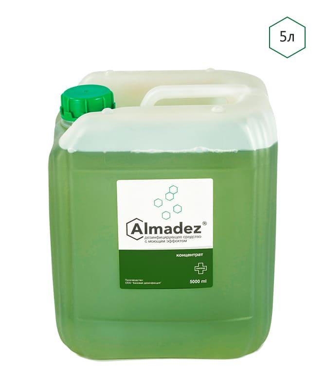 Дезинфицирующее средство с моющим эффектом «Алмадез» Концентрат 5 л - изображение