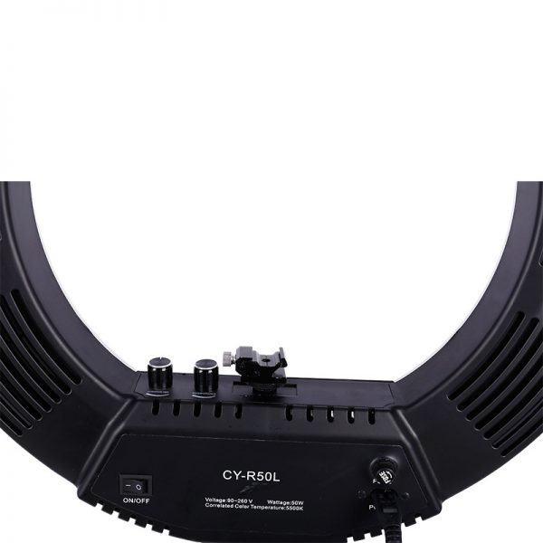 Лампа кольцевая OKIRA LED RING 480 CY 50 черная (уценка) - изображение 2