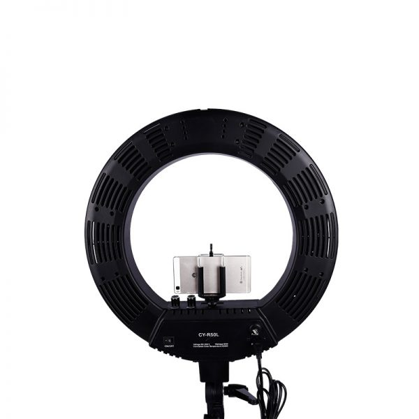 Лампа кольцевая OKIRA LED RING 480 CY 50 черная (уценка) - изображение 1