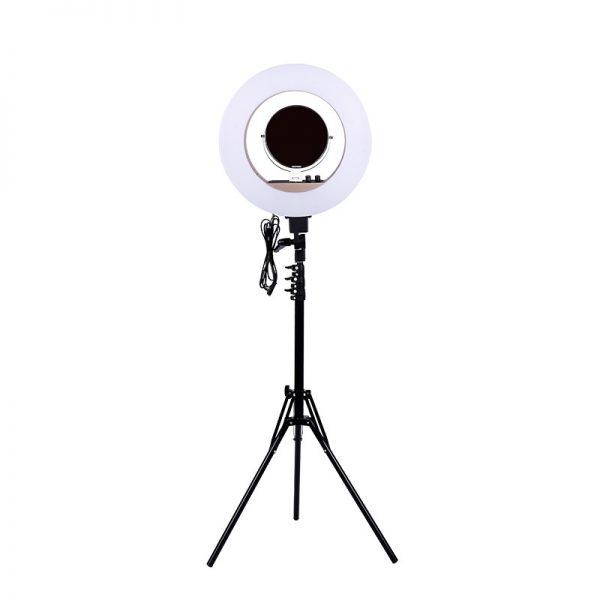 Лампа кольцевая OKIRA LED RING 480 CY 50 черная (уценка) - изображение 4