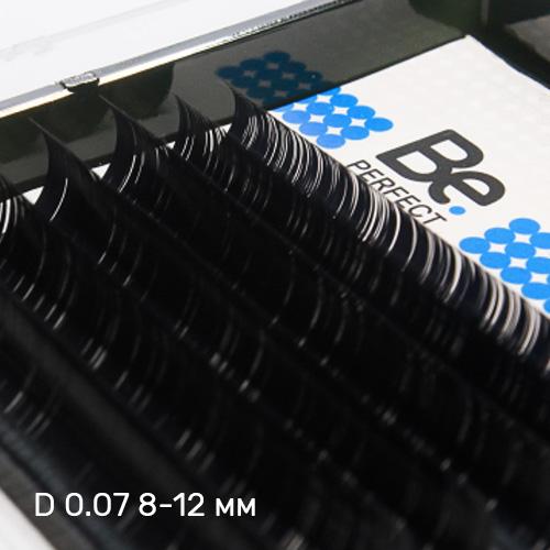 Ресницы чёрные Be Perfect Black MIX 6 линий - изображение