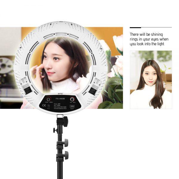 Лампа кольцевая OKIRA LED RING FS 480 - изображение 8