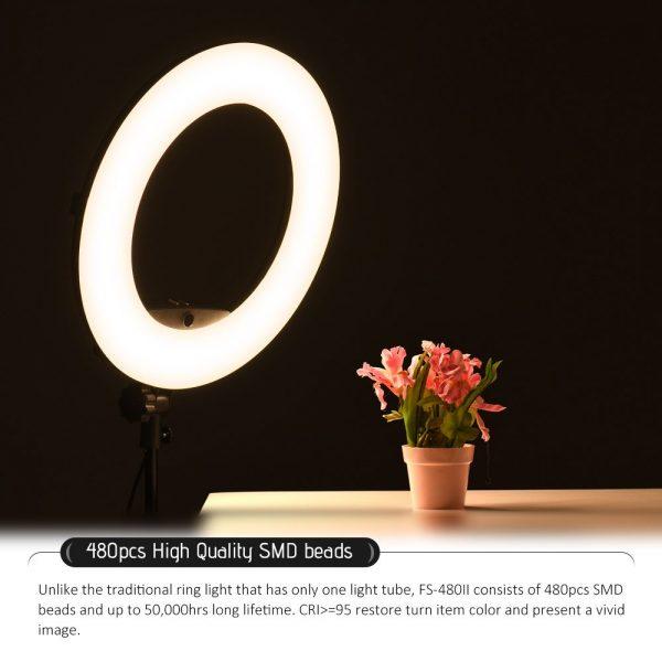 Лампа кольцевая OKIRA LED RING FS 480 - изображение 9