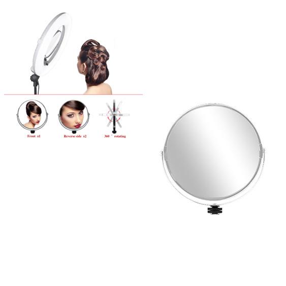 Зеркало для кольцевой лампы OKIRA FS480 - FE480 PRO - LED 240 - изображение