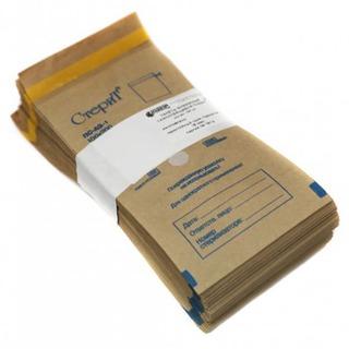 Крафт-пакеты для стерилизации 100х250мм с индикатором 100шт. - изображение
