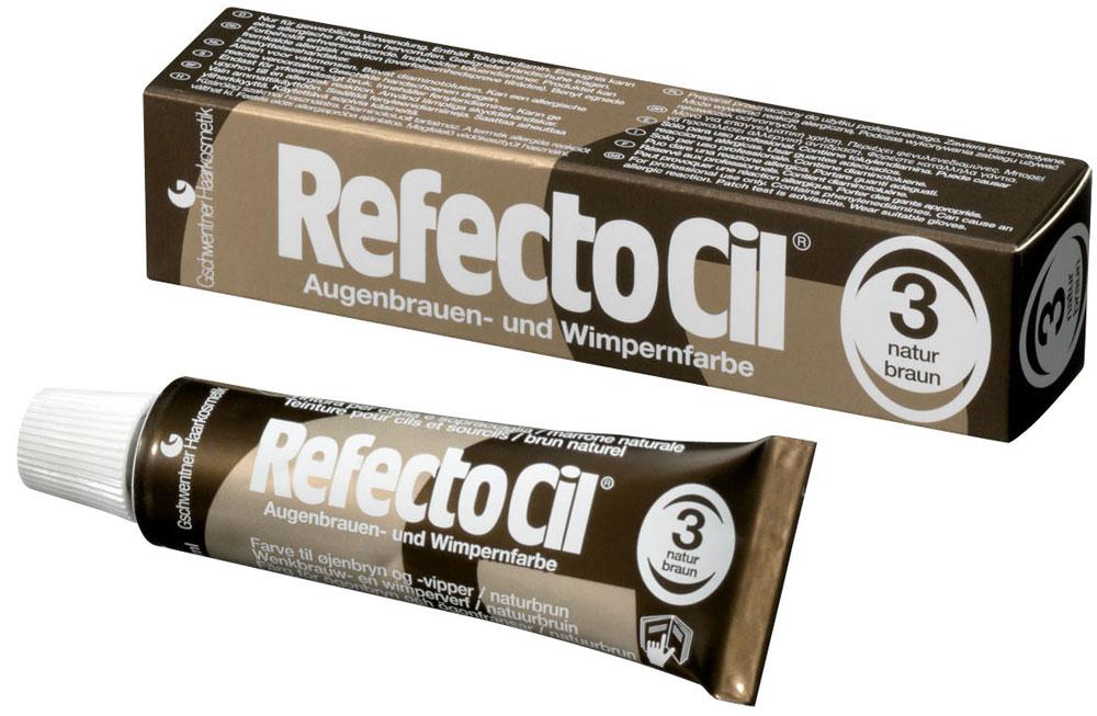 """Краска для бровей и ресниц """"RefectoCil"""" (Коричневая) - изображение"""