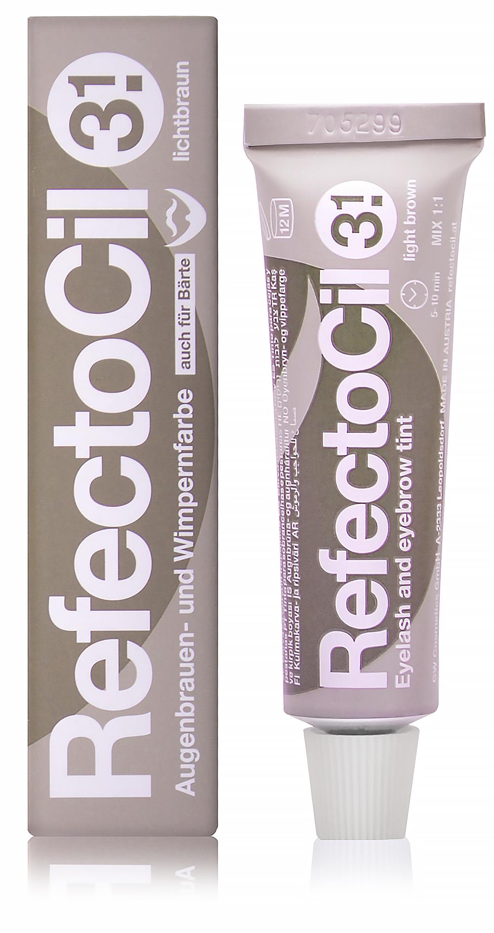 """Краска для бровей и ресниц """"RefectoCil"""" (Светло-коричневая) - изображение"""