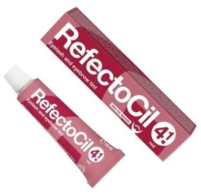 """Краска для бровей и ресниц """"RefectoCil"""" (Красная) - изображение"""