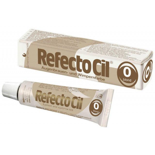 """Краска для бровей и ресниц """"RefectoCil"""" (Осветляющая №0) - изображение"""