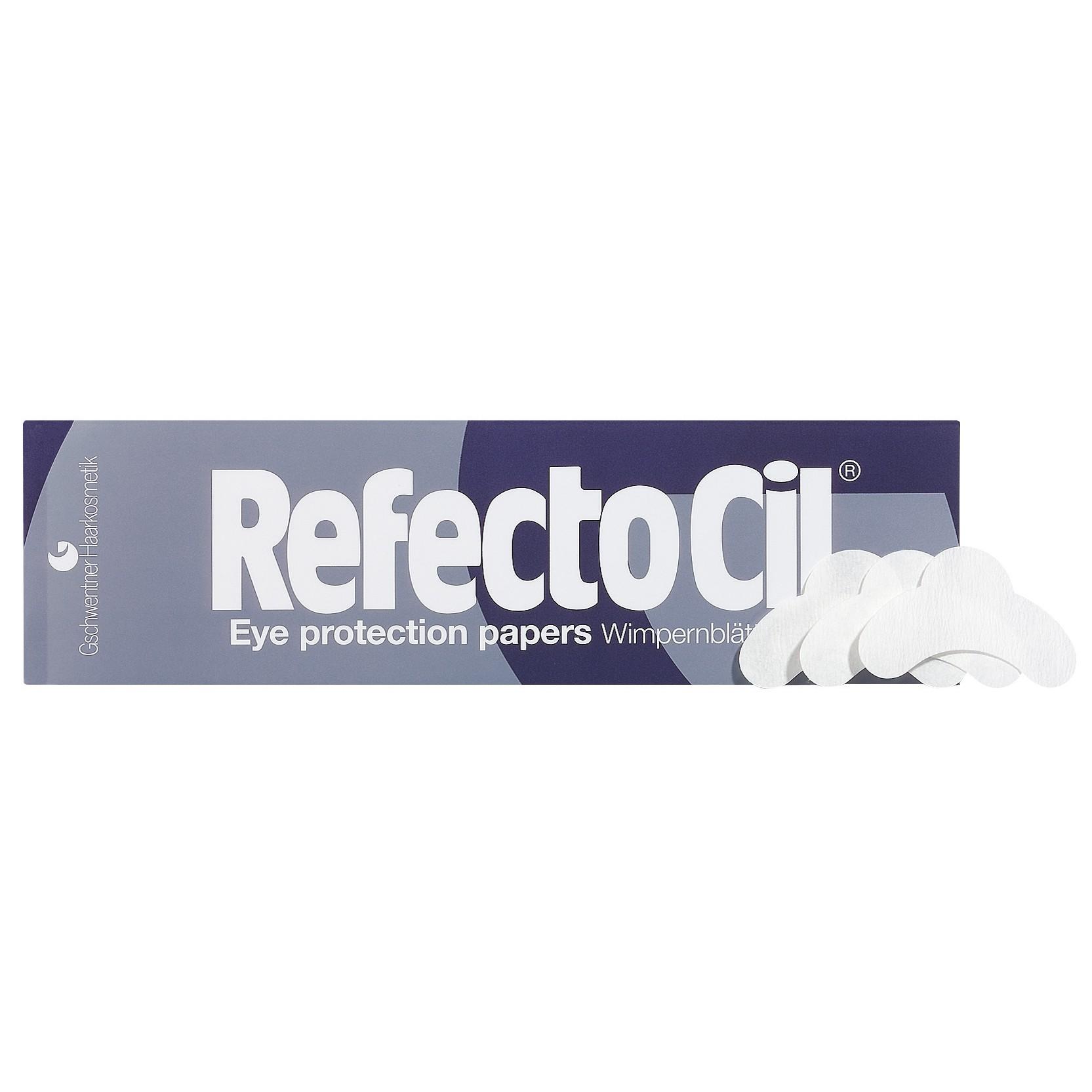 """Бумажные подкладки под глаза """"RefectoCil"""" (экстра-мягкие) - изображение"""