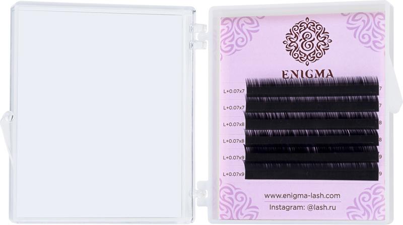 Черные ресницы Enigma МИКС 6 линий - изображение 2