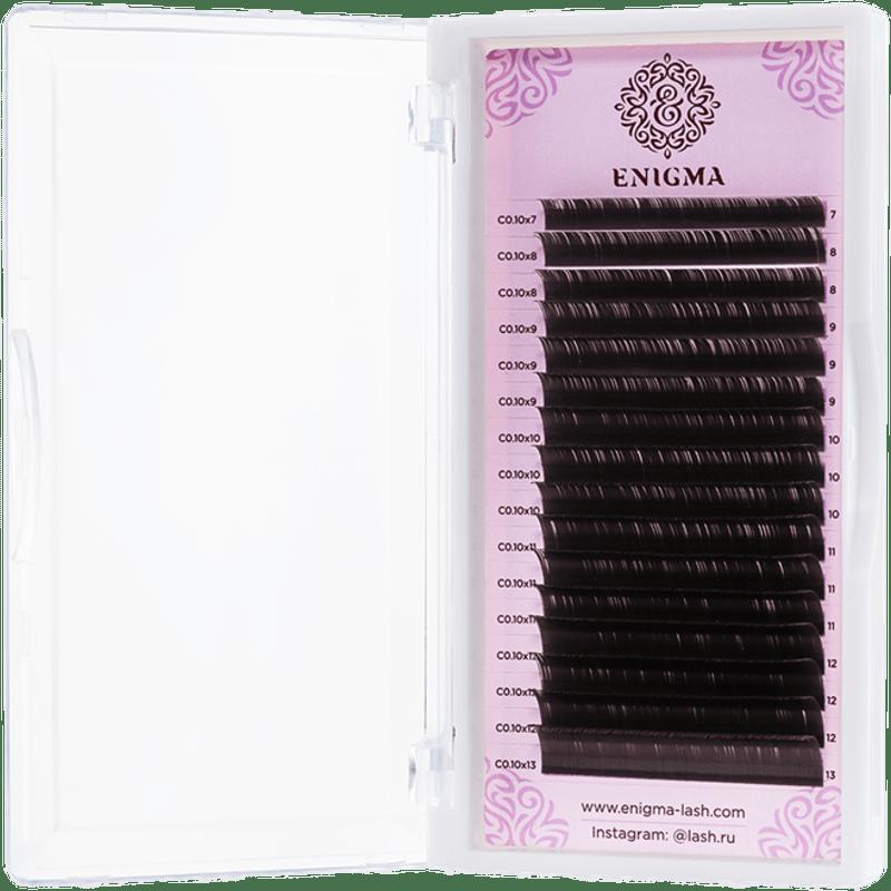 Черные ресницы Enigma 16 линий - изображение 1