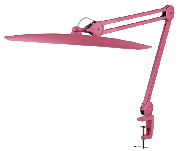 Настольная светодиодная лампа LED 117 (розовая) - изображение 1