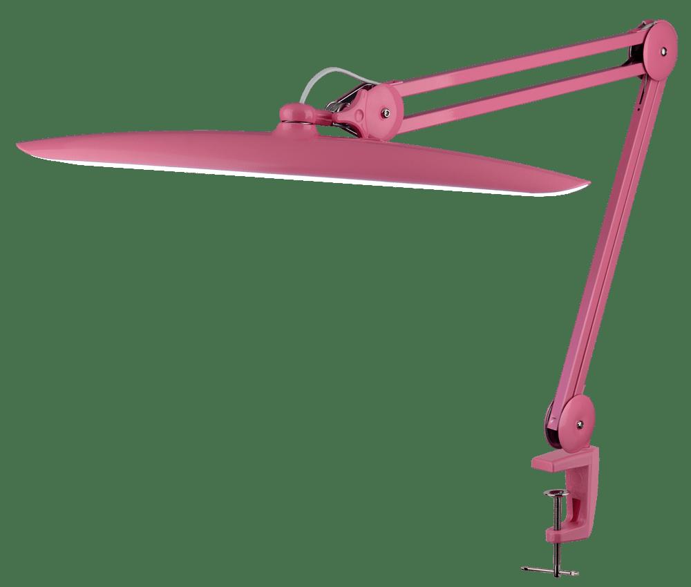 Настольная светодиодная лампа LED 117 (розовая) - изображение