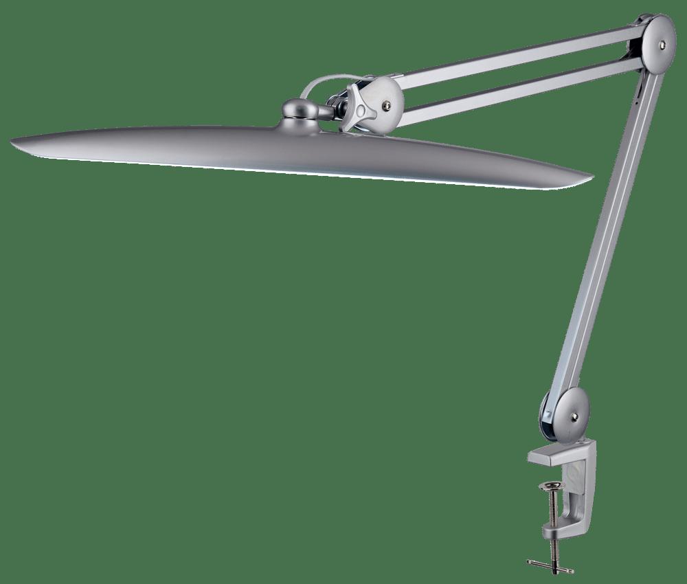 Настольная светодиодная лампа LED 117 (металлик) - изображение
