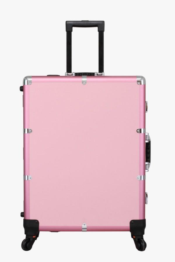 Мобильная студия визажиста розовая Premium LC015 - изображение 3