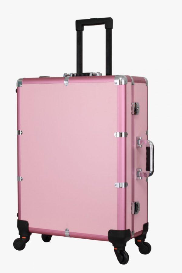 Мобильная студия визажиста розовая Premium LC015 - изображение 4