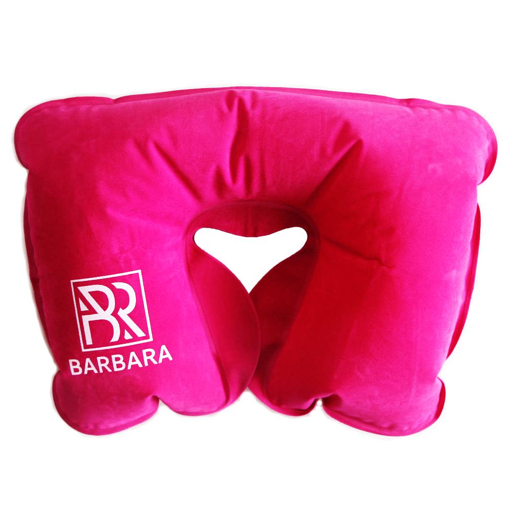 Подушка надувная (розовая) - изображение