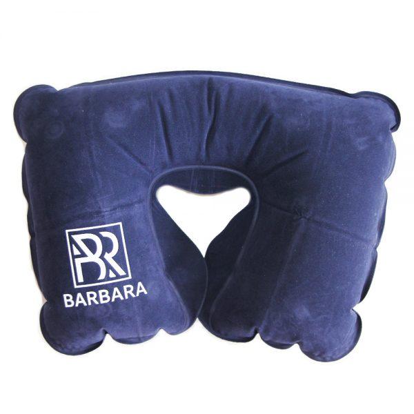 Подушка Barbara надувная (синяя) - изображение 1