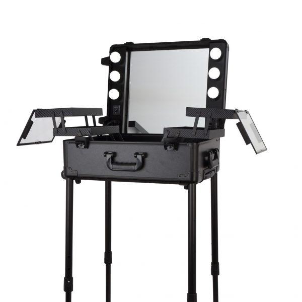 Мобильная студия визажиста чёрная LC 003 - изображение 1