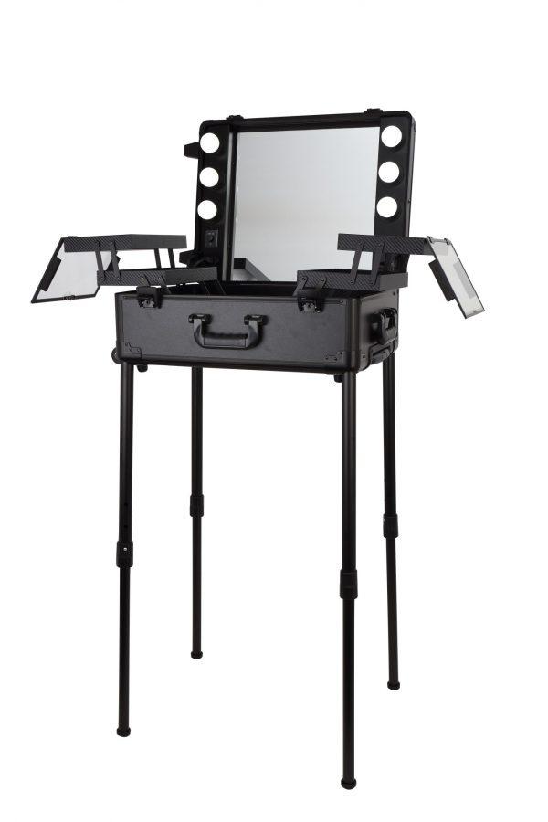 Мобильная студия визажиста чёрная LC 003 - изображение 7
