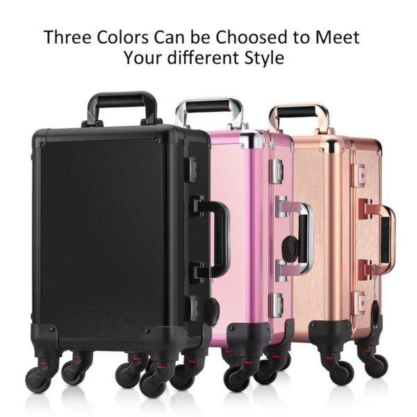Мобильная студия визажиста розовая без ножек LC 006 - изображение 5