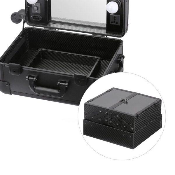 Мобильная студия визажиста чёрная без ножек LC 006 - изображение 4