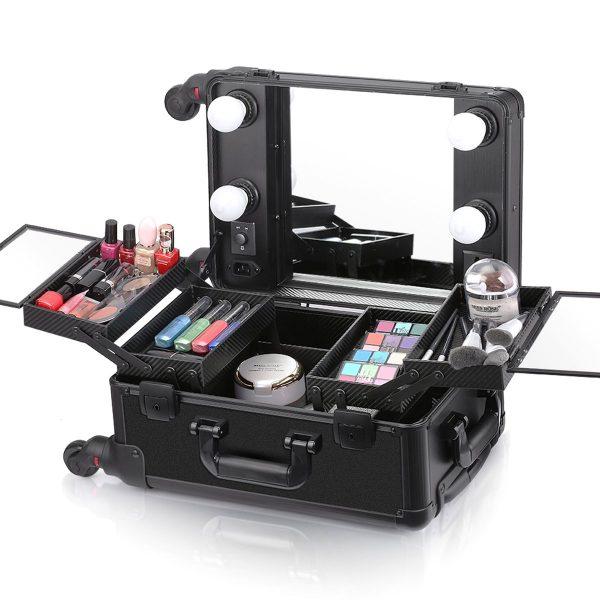 Мобильная студия визажиста чёрная без ножек LC 006 - изображение 5