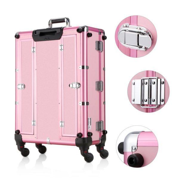 Мобильная студия визажиста розовая LC 004 - изображение 9